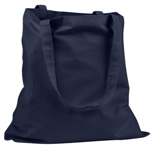 Big Accessories and BAGedge Women's Canvas Promo Tote Bag, NAVY, One ()