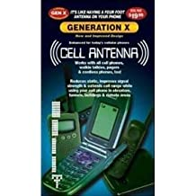 Fosmon 10 Pack of Universal Generation X Cell Phone Antenna Booster Signal Enhancers