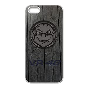 Valentino Rossi Phone Case And One Free Tempered-Glass Screen Protector For iPhone 5,5S D58155