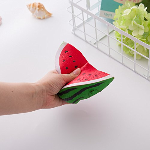 Able Kawaii Anti-stress Squishy Watermelon Mobile Phone Strapes Super Slow Rising Squeeze Stretch Bread Cake Kid Toy Gifts Mobile Phone Straps Cellphones & Telecommunications