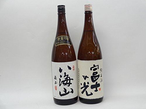 特選日本酒セット 八海山 富士の光 スペシャル2本セット(純米吟醸 純米)1800ml×2本  B014CP1ITU