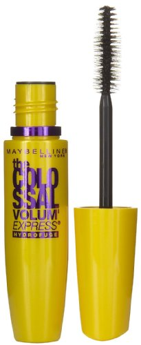 Maybelline Volum Express The Colossal Waterproof Mascara, Classic Black 241 0.27 oz Pack of 10