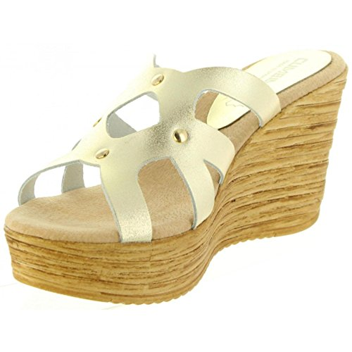 Sandales 30986 Pour Platino Cumbia Metalizado Femme BWqdzRzZ