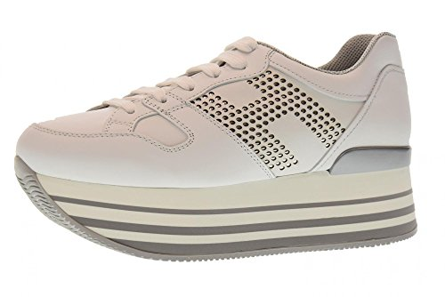 wedge with HXW2830AA70KLAB001 sneakers White woman low shoes HOGAN H283 wqzIXR