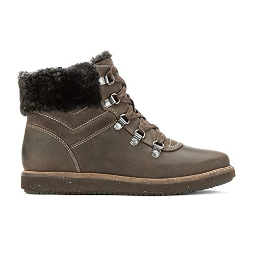 CLARKS New Women's Glick Clarmont Ankle Boot Khaki Nubuck 6.5 PoSd1EiIs