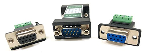 Micro Connectors, Inc RS232 to RS485 DB9 Adapter (G02-485) (Rs232 Rs485 Converter)