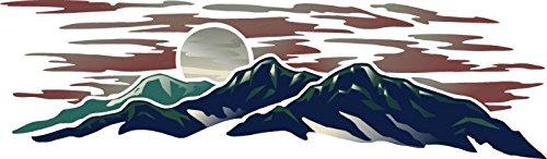 Montana 1 Rv Trailer Motorcoach Keystone Graphic Decal -943