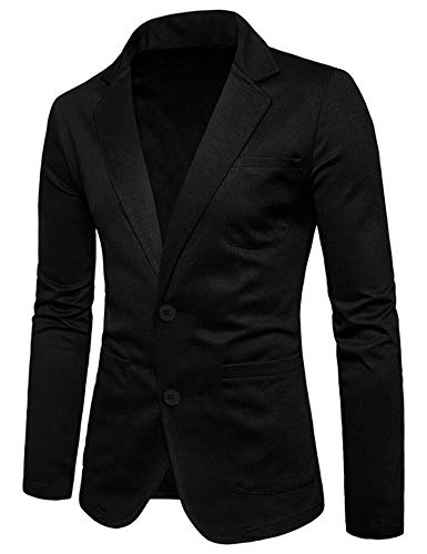 - COOFANDY Lightweight Sports Coats Two Button Cotton BCasual Suit Blazer Jackets