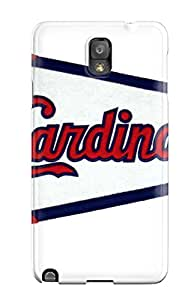 New Snap-on CaseyKBrown Skin Case Cover Compatible With Galaxy Note 3- St_ Louis Cardinals