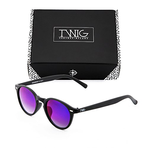 Gafas espejo sol de redondo TWIG SOUTINE mujer Negro UZUC6rqnx