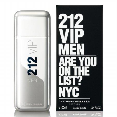 Carolina Herrera 212 Vip For Men Edt Spray 3.4 ()