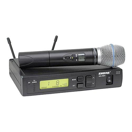 (Shure ULXS24/BETA87A-G3 Dual Wireless Handheld Microphone System)