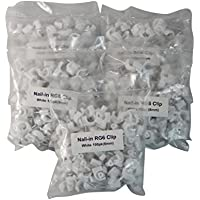 Your Cable Store 500 Pack White RG6 / 8mm Cable Clips