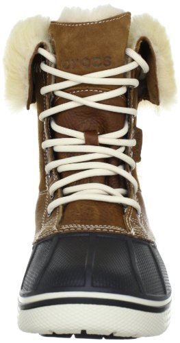 Mujer Duck Luxe Marrón 500 hazelnut 12812 070 Crocs Allcast Fashion stucco Boot Para Botines Women SpqWWwEP