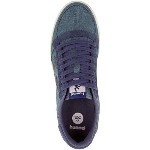 Hummel Unisex-Erwachsene Slimmer Stadil Summer Sneaker Blau (Vintage Indigo)