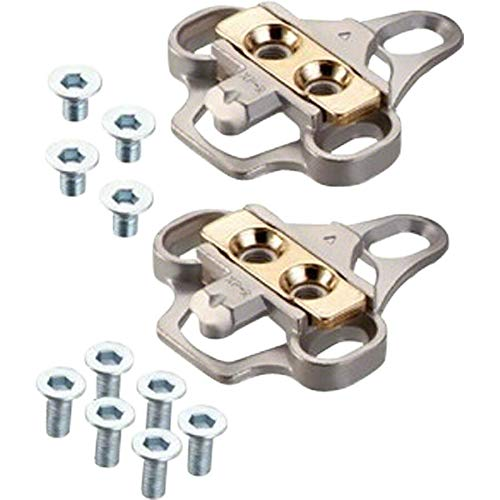 Adapter and Cleat Set for 3-Hole mounting to 2-Hole SPD Style Cleats