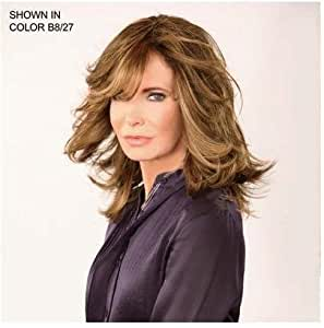 """STYLE by Jaclyn Smith -""""The Jaclyn Wig"""" B8/27 - Caramelized Brown"""