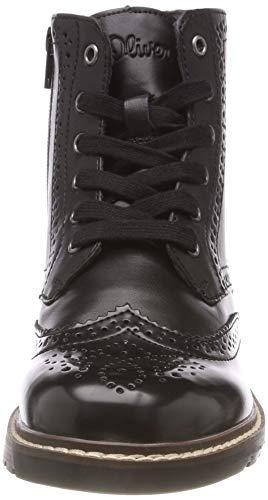 21 98 Boots Schwarz Oliver Combat Damen Comb 25465 Black s tnqPwCOn