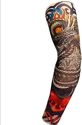 HUIYUE Tatuaje del Brazo de Flor Mangas de Hielo,La Seda del Hielo ...