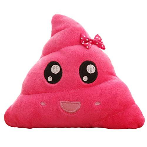 Pingrog Cojin Emoticons Caca Plush Pillow Casual Chic Smiley ...