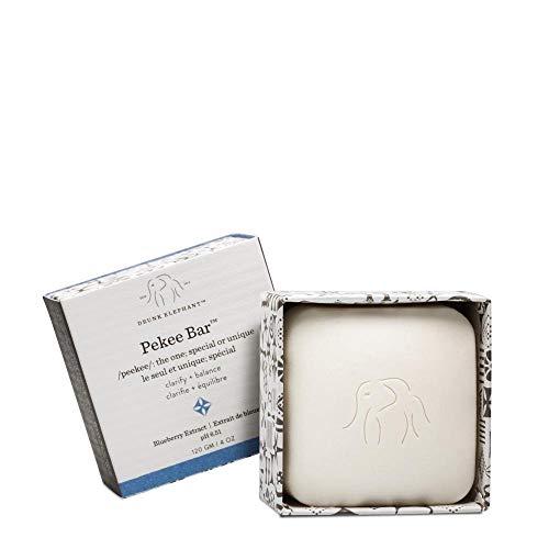 Drunk Elephant Pekee Bar - Multi-Tasking Face Wash, Toner and Moisturizing Bar Cleanser. (4 ounce)