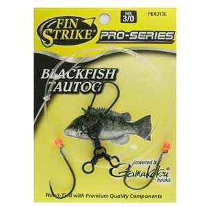 Fin strike blackfish rig octopus hooks for Tautog fishing rigs