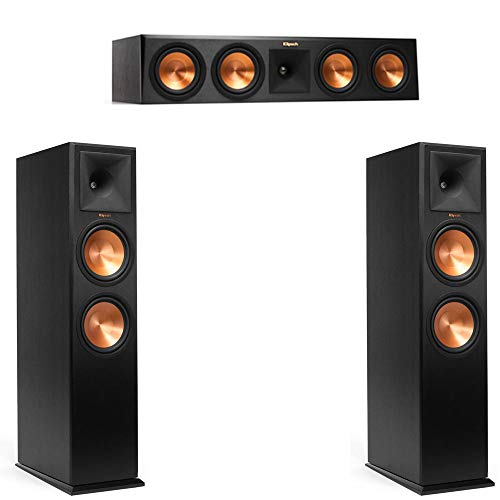 Klipsch RP-280F Pair with Klipsch RP-450C Center Channel - 3.0 Home Theater System Bundle