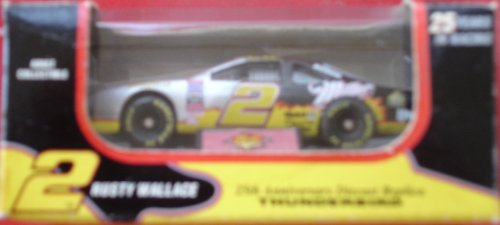 #2 Rusty Wallace Thunderbird, Miller - Rusty Race Wallace