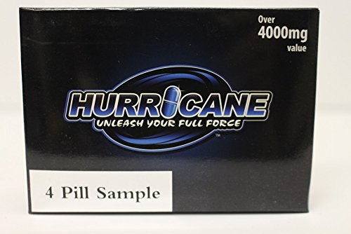 HURRICANE, Unleash your full force! Top rated male enhancement, testosterone booster, (from the guys who brought you Xtrahrd and Hapenis). (4 Pill) ...
