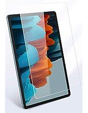 واقي شاشة لجهاز سامسونج جالكسي تاب اس 7 من ايه اي هوتروشي مصنوع من الزجاج المقسى وبحافة مستديرة 2.5 دي بحجم 11 بوصة، 2020-T870/T875