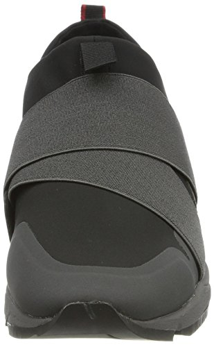 Hugo Boss Hombres Mocasines Moda Zapatillas Híbrido Runn Neoel 50380096 Negro