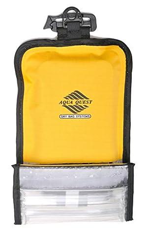 Aqua Quest Cell Shield Smartphone Case - 100% Waterproof - Yellow (Waterproof Ipod 4 Case Yellow)