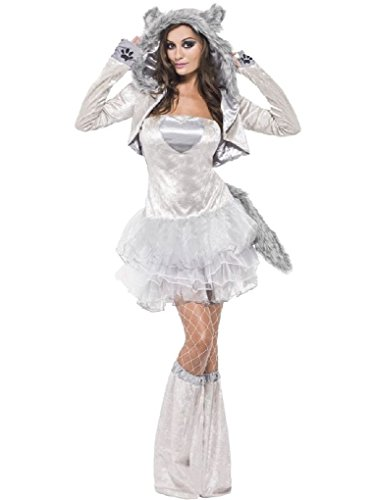 Ponce Sexy Wolf Costume Werewolf Gray Were Grey Dress (Sexy Werewolf Costume)