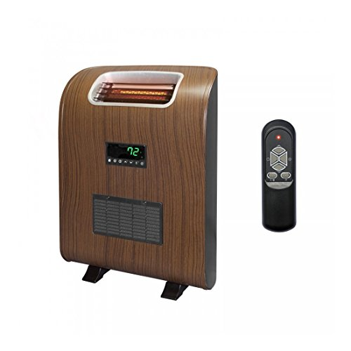 IGNITE-Lifesmart 2 Element Slim Compact Portable Infrared Quartz Electric Space Heater Infrared