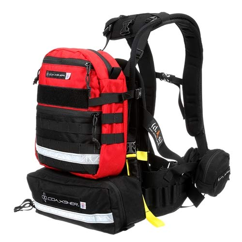 COAXSHER FS-1 Spotter Wildland Firefighter Backpack (Red)