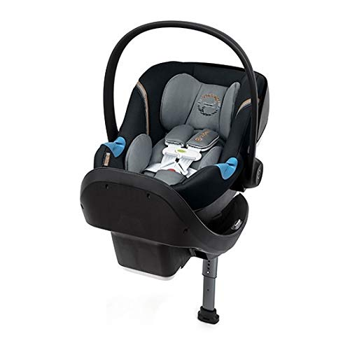Cybex Aton M Infant Car Seat with SensorSafe, Pepper Black