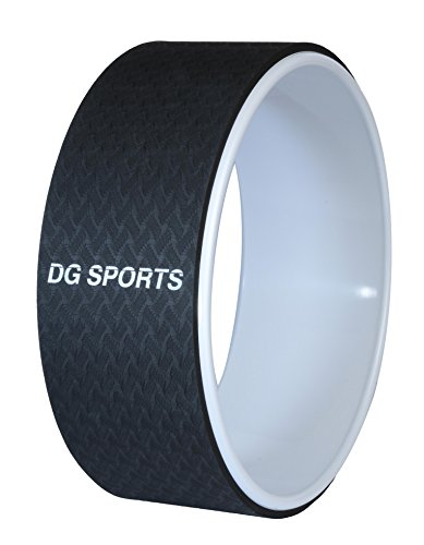 DG Sports Yoga Wheel - 13 inch - Provides Support for Poses, Aids With Stretching, Improves Balance and Flexibility & Alleviates Back - South Center County Shopping
