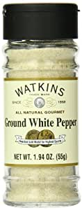 Watkins All Natural Gourmet Spice, Ground White Pepper, 1.94 Ounce