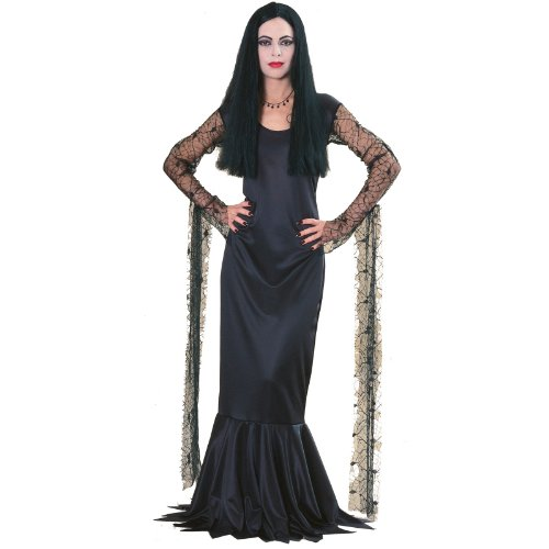 Morticia Costumes Addams Family (Morticia Addams Family Adult)