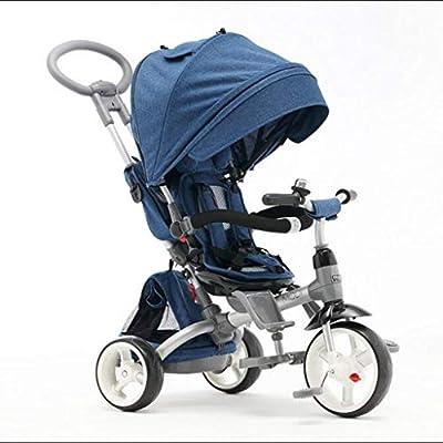 Xiaoping Versión Mejorada del Triciclo for niños de Dos vías ...