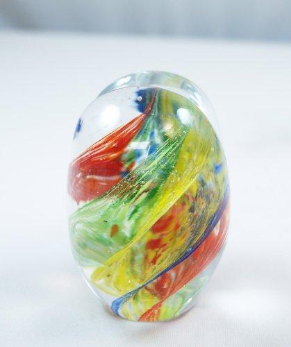 Tripact Inc Inc Inc Murano Design PW-656 Briefbeschwerer, gestreift, Regenbogenfarben B0046DHPP0 | Deutschland München  f7f7a3