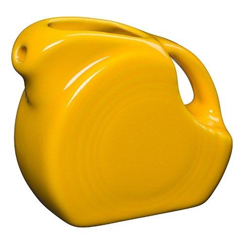 Homer Laughlin 475-342 Miniature 5 oz Disc Pitcher, Daffodil