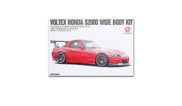 Amazon com: Hobby Design 1/24 Honda S2000 wide body kit HD03-0441