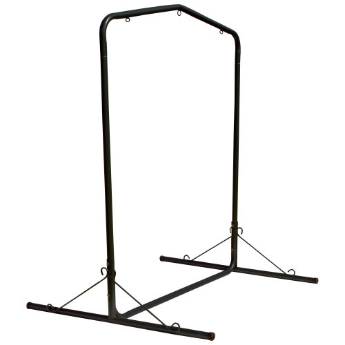 Pawley's Island SWSLBK Steel Swing Stand, Black