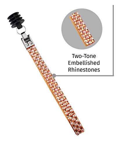 Bling Fashion Strap Pattern: Tiger Lily/ Citrus