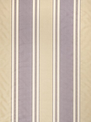 Grapevine Lavender Purple Stripes Faux Silk Upholstery Fabric by the -