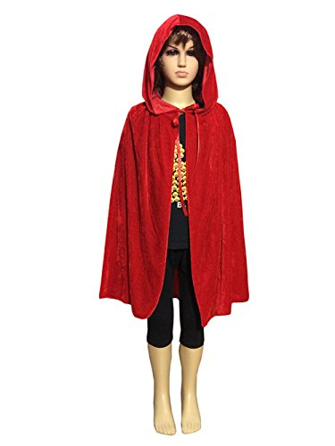 Magic Halloween Christmas Party Vampire Hooded Cloak Cosplay Dress Costume Cape (53