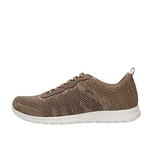 Geox Herren Sneakers U Erast Navy U823eb 01122 C4002 Braun (tortora)