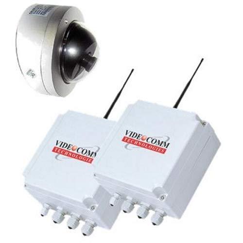 Videocomm Technologies | EV-L1R2409C4 | Elevator Dome CAM 2.4GHZ FHSS All Weather 9CH