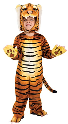 Tiger Kids Costumes (Rubie's Silly Safari Tiger Costume,)